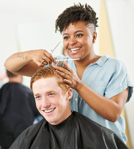Covid-19: Serving clients from a closed salon